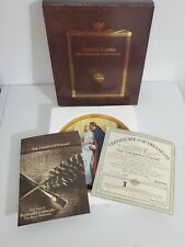 The Unexpected Proposal By Norman Rockwell Collector Plate W Certificate of Auth