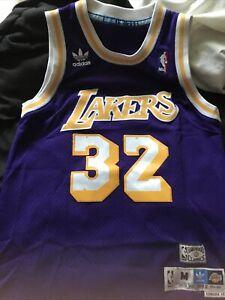Medium Purple Lakers 32 jersey