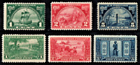 USA: 1924-25 Scott #614-19 Mint Never Hinged. 2 Nice sets.Cat $75.00