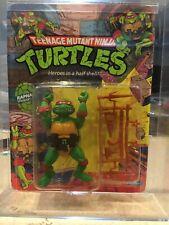 Vintage 1988 Playmates Teenage Mutant Ninja Turtles *RAPHAEL* *MOC*   Graded 75+