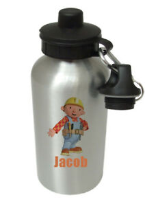 Bob the Builder - Personalised Kids/Drinks/Sports Childrens Water Bottle