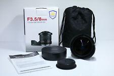 SAMYANG F3.5/8mm 1:3.5 8mm UMC FISH EYE CS II Lente para CANON EF ? Ovp