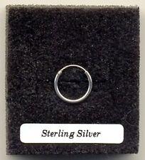 Small Silver Hoop 12mm Sterling Silver 925 Single Earring
