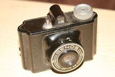 GENOS 25x25 Film Camera-MOLTO RARO-BUONE CONDIZIONI-COMPLETAMENTE FUNZIONANTE.