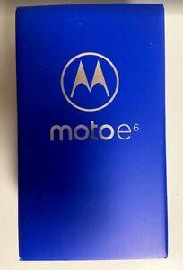 Brand New Sealed Motorola Moto E6 - 16GB - Starry Black (Unlocked) (Single SIM)