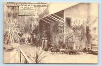 Los Angeles, CA   SAN GABRIEL MISSION PLAY HOUSE GARDEN   POSTCARD