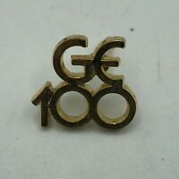 Vintage GE 100 General Electric Advertising Anniversary Employee Lapel Pin   R1