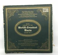 Basic Library Of The Worlds Greatest Music Various Vinyl LP Record
