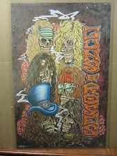 Guns n' roses rock n roll original Vintage Poster 1994 1683