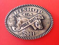 2011 muledays Bishop Ca édition limitée boucle ceinture