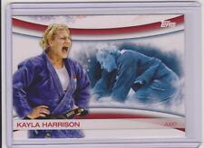 2012 TOPPS OLYMPIC KAYLA HARRISON JUDO CARD XXX OLYMPIAD #OLY-13 ~ MULTIPLES