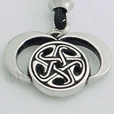 MOONS OF HECATE TRIPLE MOON GODDESS JEWELRY Pendant Wiccan Necklace bin in store