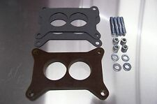 """Fits 2300 Holley Carb Riser Phenolic Insulator Spacer GM Ford Mustang 289 1/2"""" K"""