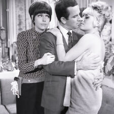 DON ADAMS BARBARA FELDON SUSANNE CRAMER GET SMART RARE '67 NBC TV PHOTO NEGATIVE