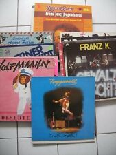 42 Vinyl LP's Deutsch Rock, Pop, Liedermacher, NDW, Große Schallplatten Sammlung