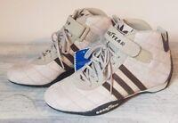 Adidas MONACO GP Trainers Race Boots Size 6 Grand Prix F1 - Cream / Beige BNWT