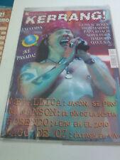 """REVISTA """"KERRANG! NUMERO 88"""" EN MUY BUEN ESTADO POSTER ROCK IN RIO PRIMAL FEAR"""