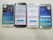 Part & Repair Lot of 4 Samsung Galaxy S6 G920V Unlocked Check IMEI PR AD-7011