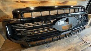 2020-21 Ford Superduty OEM Lariat Sport Grill F250 F350 f450 Tremor Agate Black
