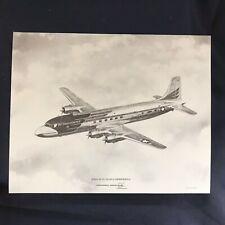 Vintage Douglas VC-118 (DC-6) Independence Vendor Aircraft Print