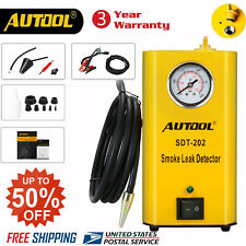 AUTOOL SDT-202 Car EVAP Pipe Smoke Machine Diagnostic Smoke Leak Detector Tester