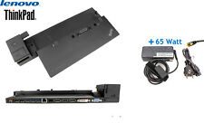 Lenovo ThinkPad Dockingstation 40A1 / 40A2 USB3.0 Displayport mit 65W Netzteil