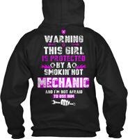 Long-lasting Mechanic Wife Girlfriend - Wa Gildan Gildan Hoodie Sweatshirt