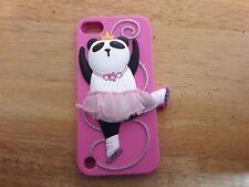 Pink Panda Skater iPod Touch 5 Generation Case