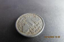 1x  1942    travall famille patrie  france 1 franc coin