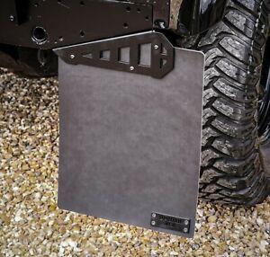 Land Rover Defender Stainless Steel Renegade Mudflap Brackets 90 - Uproar 4x4