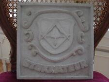 Estuco - Yesero -Wappen- 101-266B Medallón de hormigón para Fachada exterior