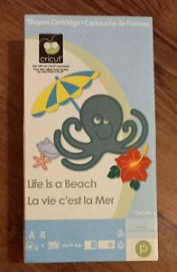 Cricut Cartridge Life Is A Beach - Font - Phrases - Beach - Vacation Provo Craft