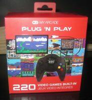 My Arcade Plug 'N Play 220 Video Games Built In
