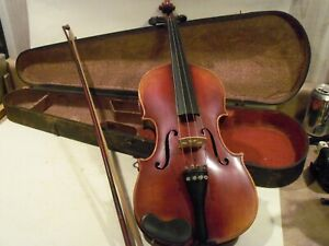 OLD VINTAGE ANTIQUE VIOLIN,FULL SIZE