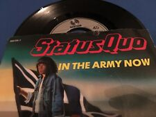 STATUS QUO - IN THE ARMY NOW - GERMANY 45 SINGLE