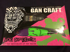 GAN CRAFT X FROG JOINTED CLAW 178 & GUN-DEENI JAPAN 2014 LIMITED (NEW)