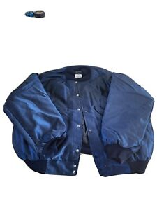 Butwin Varsity Nylon Jacket blue Men Size XXL Made In The USA NEW OLD STOCK