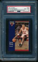 PSA 8 SCOTTIE PIPPEN 1991-92 Fleer 3D Acrylic Wrapper Redemption #33 NM-MINT