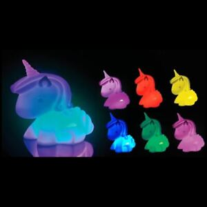 Unicorn Colour Changing Mood Night Light Bedside Lamp - LED 7 Colours