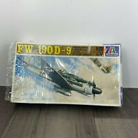 Vintage Focke Wulf FW 190D-9 Italeri 128 1/72 Scale Model Kit