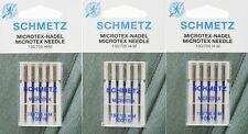 10 Schmetz Nadeln: 5 St für Leder 130//705 HLL NM100 5 St Universal Nm90 Sys