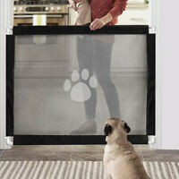 Pet Fence Cat Breathable Puppy Indoor Safety Mesh Dogs Magic Gate Lockable Guard