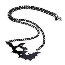 Goth Horror Halloween Vampire Black Gothic Bat Pendant