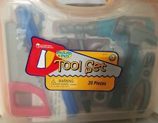 Learning Resources Pretend & Play Toy Tool Set, 20 Pieces