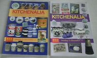 8  EXCELLENT REFERENCE COLLECTABLE KITCHENALIA  AUCTION CATALOGUES 1999 - 2006