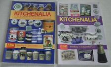 4  EARLY YEARLY  BBR KITCHENALIA  AUCTION CATALOGUES 2003 - 2006