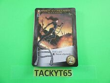 2015 UD Marvel 3d Legendary Deck Playing Card Black Widow Mission Accomplished