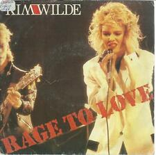 45 TOURS 2 TITRES / KIM  WILDE  RAGE TO LOVE  A5