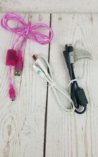 Lot Of 3 Mini computer USB Cable for Vtech Inotab, Leap Frog