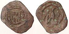 Denaro con stemma Aragonese Giovanni II Messina #6757